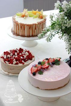 ylioppilasjuhlat Graduation Ideas, Yummy Yummy, Food Art, Panna Cotta, Foodies, Cheesecake, Food And Drink, Parties, Cakes