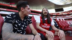 We had a special guest at the Emirates recently - international DJ Steve Aoki...
