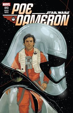 Star Wars: Poe Dameron (2016-) #13 It's Terex's army versus Black Squadron — and Black Squadron is outnumbered! Plus, Poe is stranded with only a battle-reluctant commando droid between him and his enemies. Snap Wexley may have a trick or two up his sleeve to help Black Leader fight!