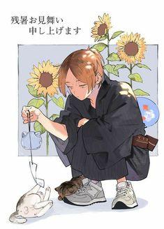 #wattpad # Holaaa!! 🍡 Aqui vas a encontrar imagenes cool y graciosas de Haikyuu!!, (tambien un poco de Yaoi).... (MUCHOO YAOII!!)  ≧▽≦ Kenma Kozume, Kuroken, Kageyama, Hinata, Manga Anime, Anime Guys, Anime Art, Haikyuu Fanart, Haikyuu Anime