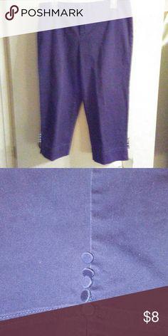 Navy Capris Navy Capris Size 8 George Pants Capris