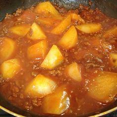 盛り付け前ですが、私も作ってみました(^^)簡単〜♪ - 66件のもぐもぐ - 大根そぼろ煮 by ゆきブヒ