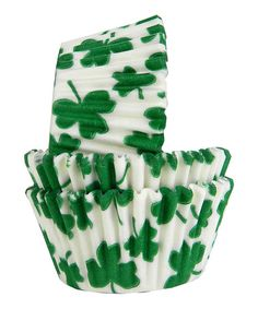 Take a look at this Regency Wraps Shamrock Cupcake Liner - Set of 60 by Regency Wraps on #zulily today!
