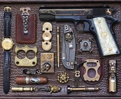 I want to believe this is someone's actual EDC