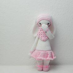 RITA the rabbit made by Alexandra Sch. / crochet pattern by lalylala