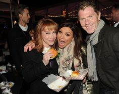 Kathy Griffin, Rachey Ray & Bobby Fley at NYC Wine and Food Festival 2013 - New York City