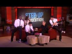 Step Up Revolution dance on Ellen
