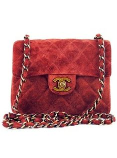 Chanel..I am not a fan of over priced handbags,but Chanel always catches my eye.