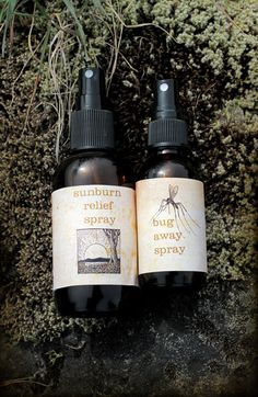 DIY Herbal Insect Repellents for outdoor adventures.