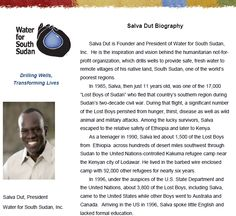 "Rotary Interact Rocks!  This Wednesday, Salva Dut (one of the ""Lost Boys"" and a founder of the ""Water for Sudan"" organization) will be attending the Dana Hills Interact Club meeting. Why you ask? Well, over the past school year, high school Interact Clubs throughout Rotary District 5320 have raised thousands of dollars for their 2011-2012 project, ""Water for South Sudan"" and the Interact students will be presenting Salva with a big check! Here's a link http://www.MonarchBeachRotary.com"