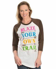 Ali Dee Blaze Your Own Trail Tee - Sheplers