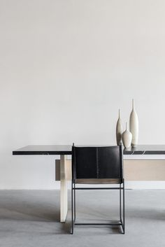 """96""""L + 36""""W + 30""""H MAPLE + NERO MARQUINA MARBLE POLY + HONED FINISH //CUSTOMIZE THIS PIECE This Dining Table is Custom Made in Los Angeles. The solid wood boards are cut to size and joined. The stone"""