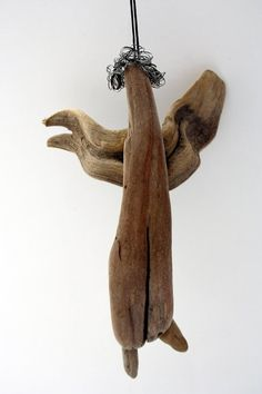 Driftwood Angel by Yalos on Etsy
