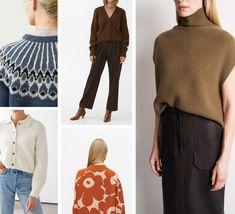 NORDIC FASHION TREND: AUTUMN STYLE Nordic Fashion, Scandinavian Fashion, Cozy Fashion, Cropped Cardigan, Wool Cardigan, Fall Fashion Trends, Autumn Fashion, Scandi Chic, Roll Neck Top