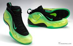 finest selection ef3f4 be3ad Nike Foamposite Lite Kryptonate. Mmm. Nike Foamposite, Foam Posites,  Basketball Shoes,