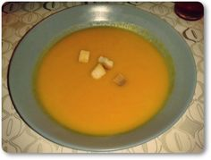 Telita na Cozinha: creme de cenoura