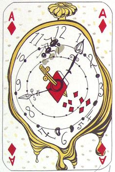 Ace of Diamonds, salvador dali