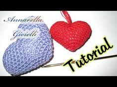 Tutorial uncinetto   Cuore amigurumi   crochet heart amigurumi
