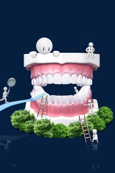 Humor Dental, Dental Logo, Dental Care, Dental Pictures, Dental Images, Dental Wallpaper, Happy Dental, Dentist Art, Dental Videos