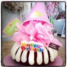 Nothing Bundt Cake Bundtinis With DIY Printed Cupcake Toppers And - Bundt birthday cake