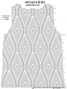 Dress stitch crochet for kids Irish lace, crochet, crochet patterns, clothing and decorations for the house, crocheted. Crochet top with chart This Pin was discovered by roc Pull Crochet, Gilet Crochet, Crochet Cardigan Pattern, Crochet Shirt, Crochet Jacket, Knit Crochet, Crochet Diagram, Crochet Motif, Crochet Designs