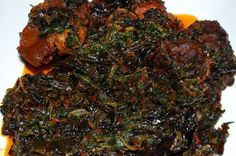 Edikaikong  #Nigerian Food  straight from Akwa-Ibom state (home state)