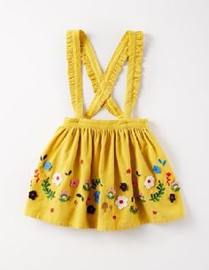 Mini Boden Decorative Skirt Honeycomb Flowers Girls Boden, This cord skirt has a little touch of magic, as its cross-back straps are actually detachable (ta-da). Whichever way you choose to wear it, with felt appliqué and metallic embroidery, youll feel read http://www.MightGet.com/january-2017-13/mini-boden-decorative-skirt-honeycomb-flowers-girls-boden-.asp