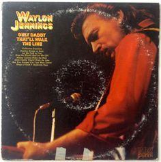 Waylon Jennings - Only Daddy That'll Walk The Line LP Vinyl Record Album, RCA Camden - ACL1-0306, Folk, Country, 1974