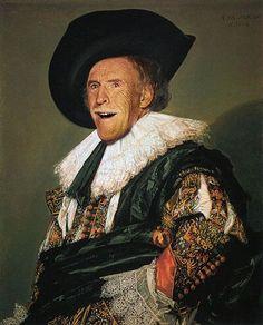 The Laughing Cavalier is a portrait by the Dutch Golden Age painter Frans Hals Johannes Vermeer, Peter Paul Rubens, The Arnolfini Portrait, 17th Century Fashion, Jan Van Eyck, Dutch Golden Age, Baroque Art, Damien Hirst, Dutch Painters