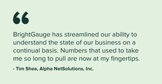 BrightGauge Software: Overview | LinkedIn Fails, Software, Campaign, Business, Inspiration, Biblical Inspiration, Make Mistakes, Store, Business Illustration