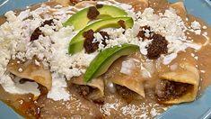 Enchiladas, Relleno, Meat, Chicken, Food, Ground Meat, Essen, Meals, Eten