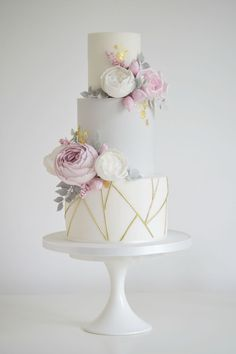 Geometric Cake decorating ideas