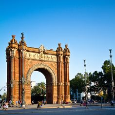 Barcelona - Arc De Triomf - it's even more gorgeous in real life!