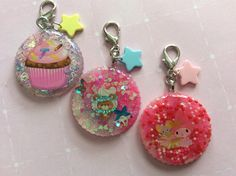 A personal favorite from my Etsy shop https://www.etsy.com/listing/230956585/kawaii-resin-charms-cupcake-resin-charm