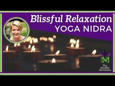Pure Blissful Relaxation and Stress Relief / Yoga Nidra Meditation / Mindful Movement Guided Meditation For Sleep, Yoga Nidra Meditation, Guided Mindfulness Meditation, Guided Relaxation, Mind Relaxation, Free Meditation, Relaxing Yoga, Meditation Music, Yoga For Stress Relief
