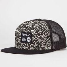 1f89f840 RVCA Brookes Mens Trucker Hat Mens Trucker Hat, Snapback, Snapback Hats,  Snapback Cap