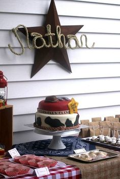 """Photo 22 of 36: Western/Cowboy / Birthday """"Nathan's 2nd Birthday"""" 