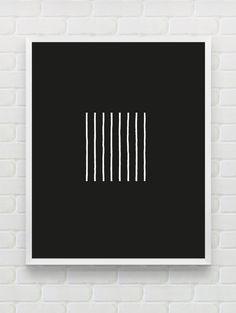 Printable geometric wall art, abstract art, contemporary art decor, scandinavian black and white wall art, minimalist print digital wall art