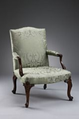 Armchair BRITISH (BRITISH) C. 1760