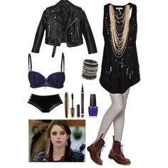 Effy Skins by me 08 Effy Stonem Style, Punk Fashion, Fashion Outfits, Skin Aesthetics, Elle Macpherson Intimates, Moda Casual, Gothic Outfits, Aesthetic Fashion, Polyvore Outfits