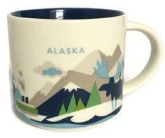 "Alaska - ""You Are Here"" Starbucks Mug"