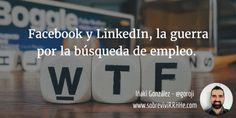 Facebook y LinkedIn búsqueda de empleo