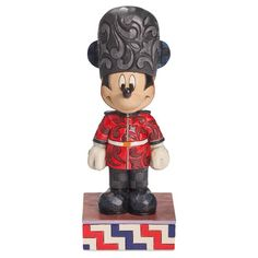 Jim Shore® Mickey Mouse in England Figurine