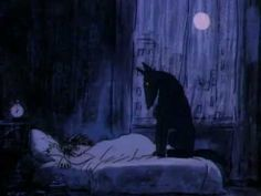 Amazing short film by Alison De Vere Черный пес /The Black Dog/ UK, 1987