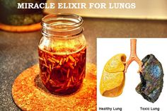 Smoking can cause severe damage to lungs. It's essential to clear your lungs for a healthy body. Read about Elixer, a drink that can help clean your lungs.