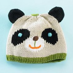 Panda Hat  $27.00  booties to match very cute hats on this site