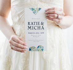 Gaudí Minimal Geometric Wedding Inspiration | Green Wedding Shoes Wedding Blog | Wedding Trends for Stylish + Creative Brides