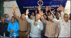Hipólito Meja proclama: hoy sábado desde Azua iniciamos la ruta indetenible hacia el Palacio Nacional.
