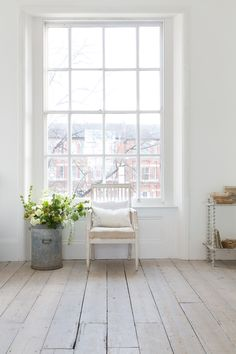 This window is the dream, look at the light! Such a bright, happy space