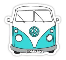 Hippie Van Sticker